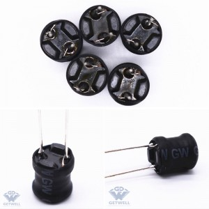 High definition 470uh 3a Naked\/toroidal \/winding\/inductor Bobbin 13*5mm