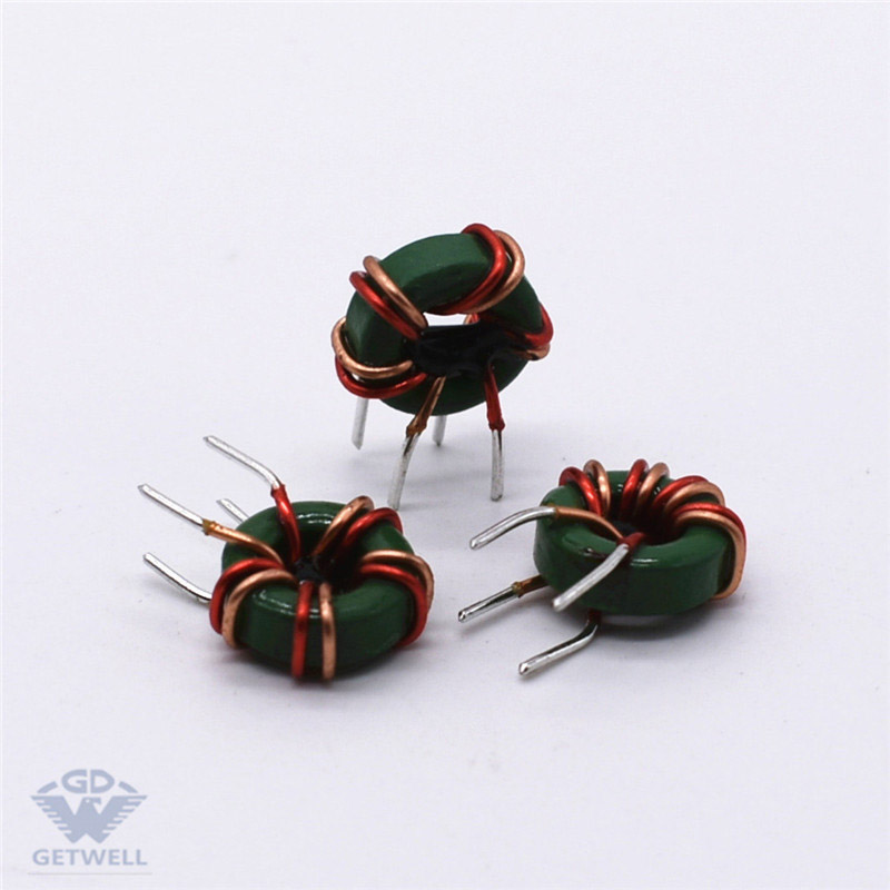 OEM Manufacturer 100 Microhenry Radial Inductor -