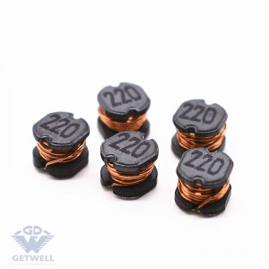 China Supplier Miniature Electromagnet Coil Smd Power Inductor 220uh