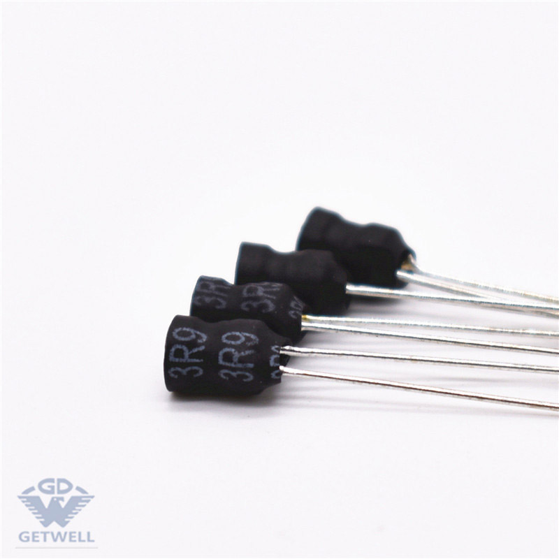 Fast delivery Radial Ferrite Magnetic Core 3 Pins Miniature Buzzer Drum Core Inductor Radial Inductor For Car Featured Image