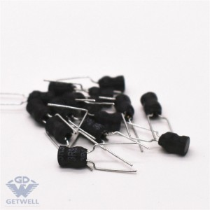 Fast delivery Radial Ferrite Magnetic Core 3 Pins Miniature Buzzer Drum Core Inductor Radial Inductor For Car
