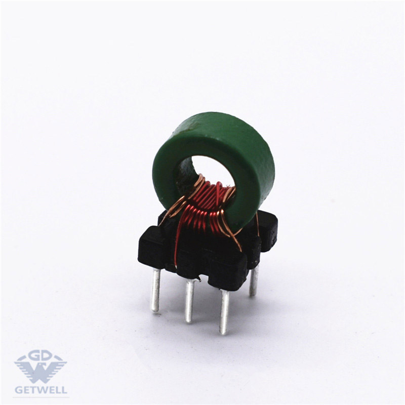 high current toroid core inductor